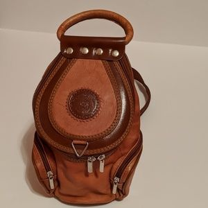 Valentino DiMax Vintage Mini Backpack Leather